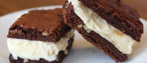 Resep Cara Membuat Brownies Sandwich Ice Cream
