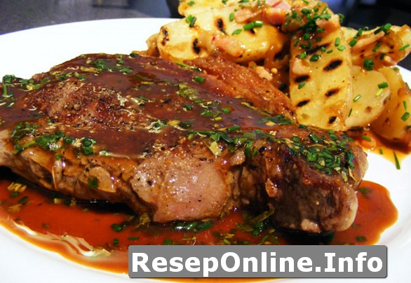 Bahan Resep Masakan Chicken Steak Dengan Brown Sauce