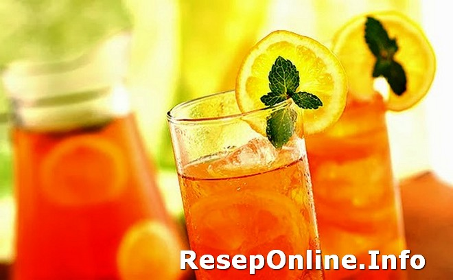 Info Resep Minuman Soda Es Lemon Tea