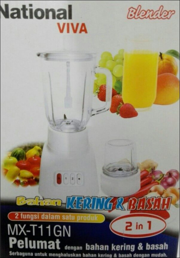 harga blender national